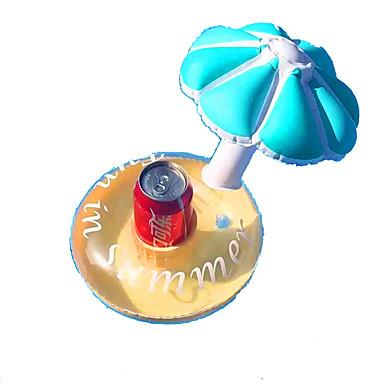 taza Bebida Inflable de Coater / Colchonetas para piscina CLORURO DE POLIVINILO 3pcs Niños