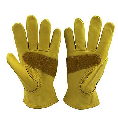 דקל gato כפפות עור כפפות עור פרה תלושות קשוח כפפות עבודה עמידה