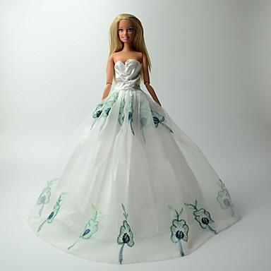 מסיבה/ערב שמלות ל ברבי דול שמלות ל הילדה של בובת צעצוע