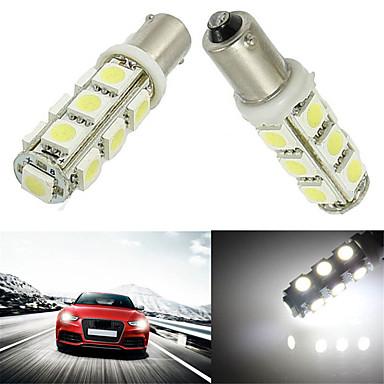 10pcs BA9S 13SMD 5050 weiße Farbe Auto Auto Glühlampe Lampe LED LED (12 V DC)