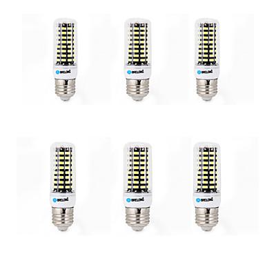 6W E14 G9 GU10 B22 E26/E27 LED-maïslampen B 80 SMD 5733 700 lm Warm wit Koel wit K Decoratief AC 220-240 V