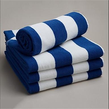 Badehåndklæde,Garn Bleget Høj kvalitet 100% Bomuld Håndklæde