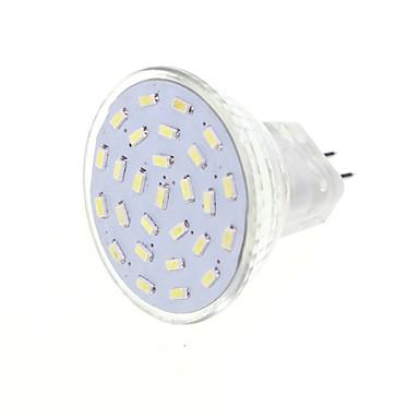 SENCART 1pc 2.5 W 3000/6000 lm G4 LED-spotpærer MR11 27 LED perler SMD 3014 Dekorativ Varm hvit / Kjølig hvit 12 V / 1 stk. / RoHs