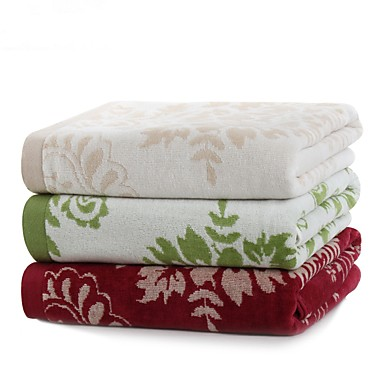 BadhanddoekGaren Geverfd Hoge kwaliteit 100% Katoen Handdoek