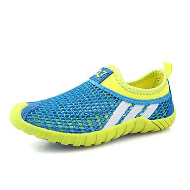 Drenge Sko Tyl Sommer Komfort Sandaler Elastik for Afslappet Mørkeblå Grøn Blå