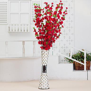 1pc 1 Afdeling Polyester / Plastik Others Gulvblomst Kunstige blomster 49.2inch/125CM