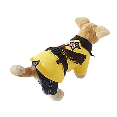 Katte Hunde Kostume Dragter Jumpsuits Hundetøj Vinter Forår/Vinter Britisk Cosplay