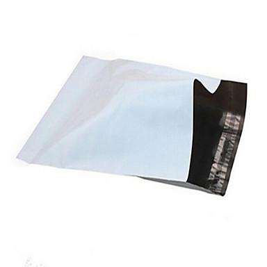 [spesialtilbud 25 * 35cm hvite nye materialet kurer vesker kurer poser engros vanntett sabotasje