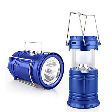 1 stk LED-sollamper LED Læselys Dekorations Lys Natlys Soldrevet Batteri Genopladelig