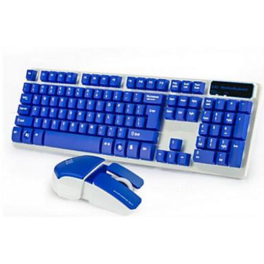 Trådløs USB Tastatur og musForWindows 2000/XP/Vista/7/Mac OS