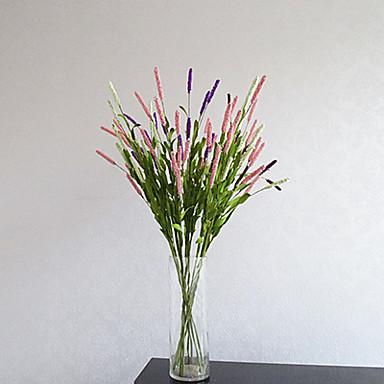 1 Tak Piepschuim Lichtblauw Bloemen voor op tafel Kunstbloemen