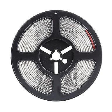 SENCART 5m Flexible LED-Leuchtstreifen 300 LEDs 5630 SMD Warmes Weiß / Weiß / Rot Schneidbar / Wasserfest / Verbindbar 12 V / IP68 / Für Fahrzeuge geeignet / Selbstklebend