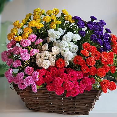 1 1 Tak Polyester / Kunststof Overige Bloemen voor op tafel Kunstbloemen 14.56Inch/37cm