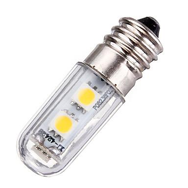 1W 420lm E14 LED-kornpærer T 77 LED perler SMD 5050 Dekorativ Varm hvit Kjølig hvit 220-240V