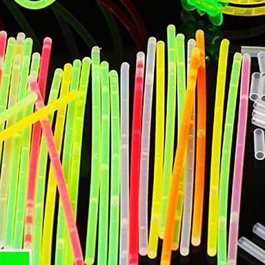 1pc LED lys stick tilfældig farve originalitet knickknack jul vokal koncert nat-lys