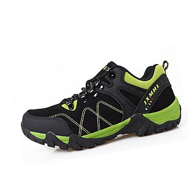 Sneakers-Syntetisk ruskind-Komfort-Dame / Herre-Sort / Brun / Grøn / Lilla / Mørkerød-Sport-Flad hæl