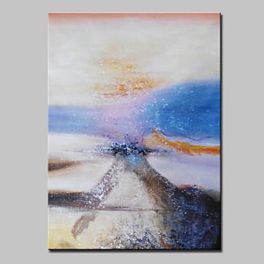 met de hand geschilderd moderne abstracte olieverfschilderijen op doek kunst aan de muur foto met gestrekte frame klaar om op te hangen