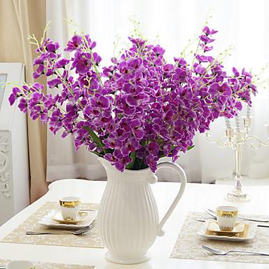 1 1 Afdeling Polyester / PU Others Bordblomst Kunstige blomster 26.37inch/63cm