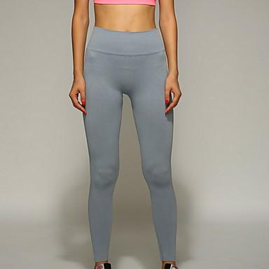 Damen Grün, Blau, Grau Sport Hosen / Regenhose Yoga Sportkleidung Atmungsaktiv, Videokompression Dehnbar
