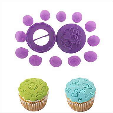 Bakvormen gereedschappen Muovi Baking Tool cake Decorating Taart Cupcake Cake Brood Leivonta- ja leivonnaistyökalu