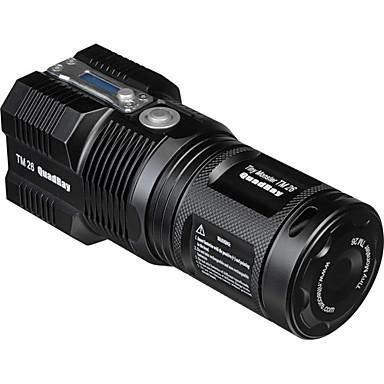 Nitecore TM26 LED-Zaklampen LED 3000lm 5 Verlichtings Modus inklusive Ladegerät Oplaadbaar / Dimbaar / Waterbestendig Kamperen / wandelen