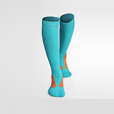 Knæhøje Sokker Dame Herre Unisex Åndbart Anti-statisk Anti Statisk Anti-skrid Begrænser bakterier Komprimering-1 Par forKlatring Træning