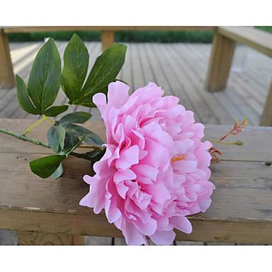 Polyester Bryllup Dekorationer-1piece / Set Kunstig blomst Valentinsdag / Bryllup HavetemaHvid / Rød / Lyserød / Elfenbensfarvet /