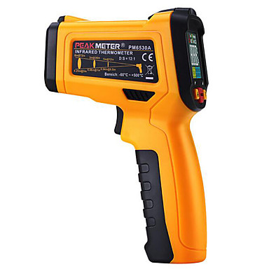 håndholdt infrarødt termometer (specifikation: kinesisk eller engelsk)