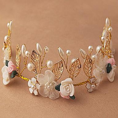 folha bela rosa grinaldas de flores cabeça para a senhora festa de casamento o cabelo do feriado de jóias