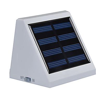 6000-6500 lm 4-pin Aurinkopaneeli LED-valot Upotettu jälkiasennus 3 ledit SMD 3528 Tunnistin Vedenkestävä Kylmä valkoinen <5V