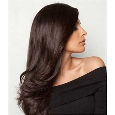 Jomfruhår Blonde Front Paryk Brasiliansk hår Lige 130% Massefylde Med Baby Hair ubehandlet Afro-amerikansk paryk Naturlig Lang Dame