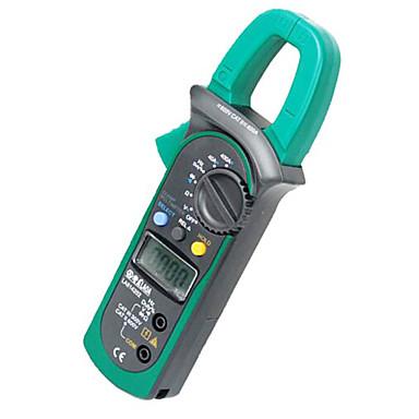 digital ac dc clamp digital multimeter fuldt sortiment overbelastningsbeskyttelse