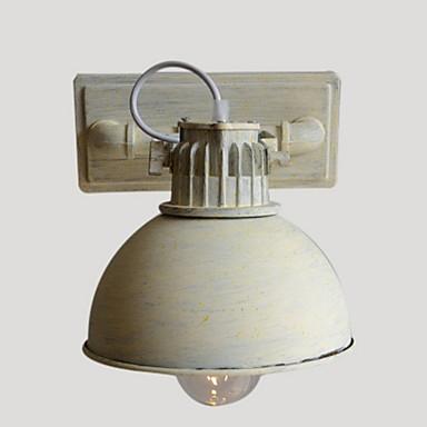 Rústico / Campestre Luminárias de parede Metal Luz de parede 110-120V / 220-240V 40W