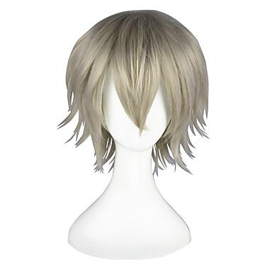 Cosplay Parykker Final Fantasy Hope Estheim Anime Cosplay Parykker 35 CM Varmeresistent Fiber Herre Dame