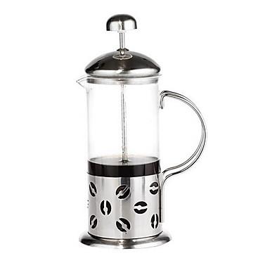 600 ml van de Franse filter glas bubble tea filter druk pot