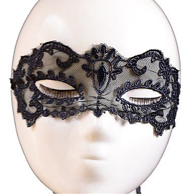 Lace Mask 1pc Holiday Decorations Party Masks Cool / Modieus Een maat Zwart Kant