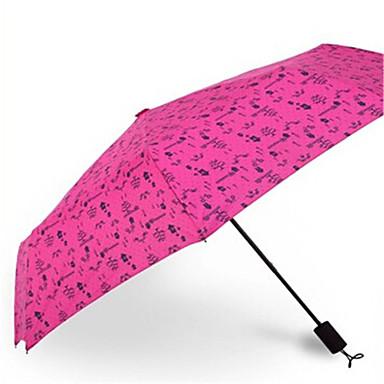 Taitettava sateenvarjo Metalli Rattaat Miehet Kids Matkustus Rouva Auto