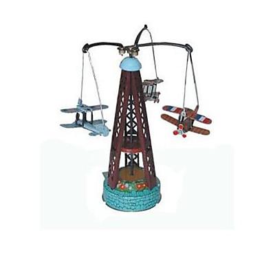 Opwindspeelgoed Anti-stress Speeltjes Noviteit Vliegtuig Windmolen Metaal 1pcs Stuks Kerstmis Verjaardag Kinderdag Geschenk