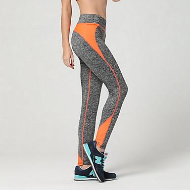 Mujer Pantalones de yoga - Rojo, Verde, Azul Deportes Pantalones / Sobrepantalón Running, Fitness, Gimnasia Ropa de Deporte Transpirable, Compresión Elástico
