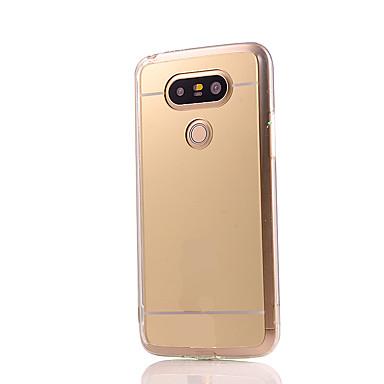 Funda Para LG / LG G5 Funda LG Cromado / Espejo Funda Trasera Un Color Dura Acrílico para