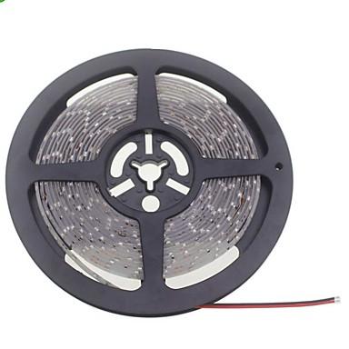 SENCART 5M Flexibele LED-verlichtingsstrips 600 LEDs 3528 SMD Warm wit / Wit Knipbaar / Waterbestendig / Koppelbaar 12 V / IP65 / Geschikt voor voertuigen / Zelfklevend