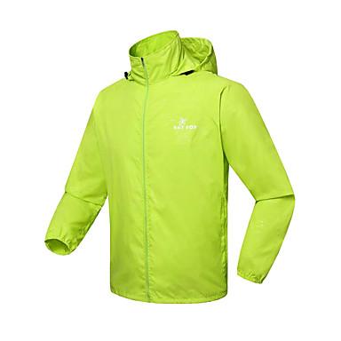 Kingbike Férfi / Női / Uniszex Kerékpáros kabát Bike Esőkabát / Dzsörzé / Felsők Vízálló, Gyors szárítás, Szélbiztos Egyszínű, Vékony