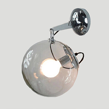 E27 220V 25*32.5CM 5-15㎡  Individuality Creative Design Modern Glass Bubble Ball Pendant Lamp Wall Lamp Led Lights