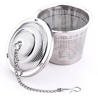 304 rustfrit stål praktisk te bold si mesh infusionsenheden filter urte