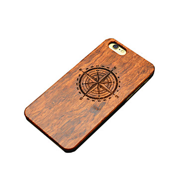 Case For iPhone 5 Apple iPhone 5 Case Pattern Embossed Back Cover Cartoon Hard Wooden for iPhone SE/5s iPhone 5