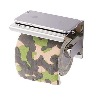 neue Anti-Rost Edelstahl 304 Bad Papier Telefonhalter mit Regal