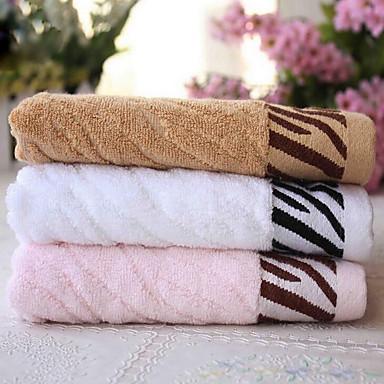 VaskehåndklædeMønstret Høj kvalitet 100% Bambus Fiber Håndklæde
