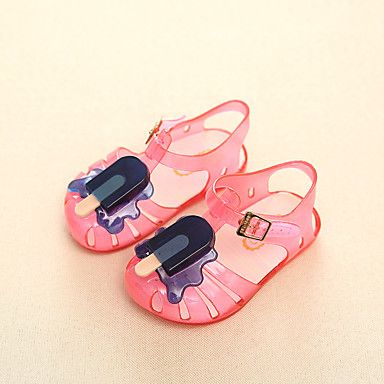 Jongens Meisjes Sandalen Zomer PVC Causaal Wit Geel Blauw Roze
