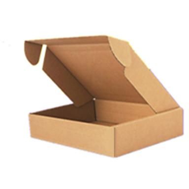 gele kleur, ander materiaal verpakking& verzending dunne T2E (20 * 14 * 4) kartonnen dozen een pak van dertig
