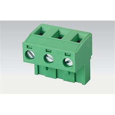 plug and plug tipo mm terminal de 2edg-7,62 2--24p 15a proteção ambiental 300v cobre